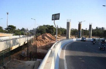 Work on Hebbal Flyover progresses