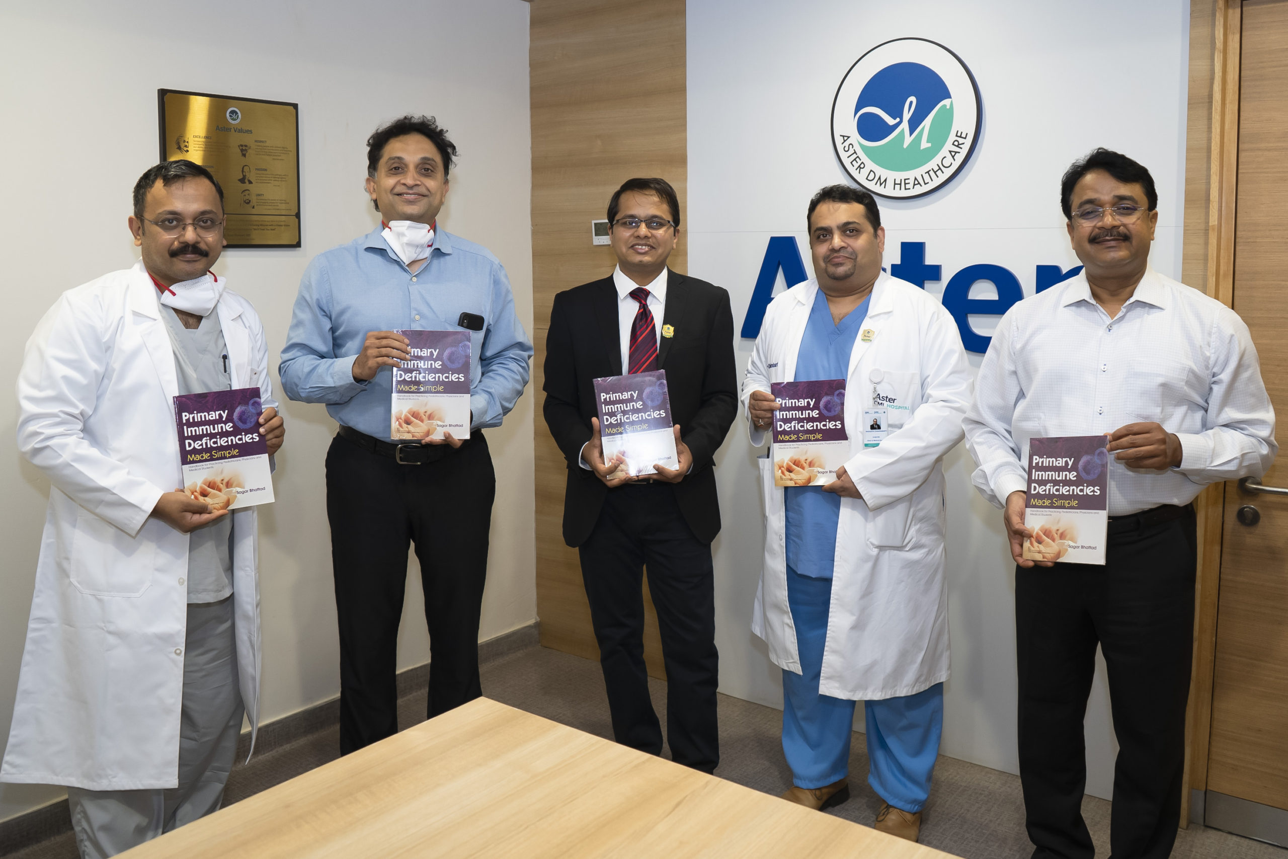 Book on immune deficiencies by Aster CMI