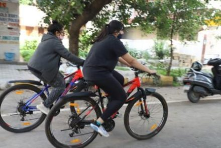 Govt gives push for pedals