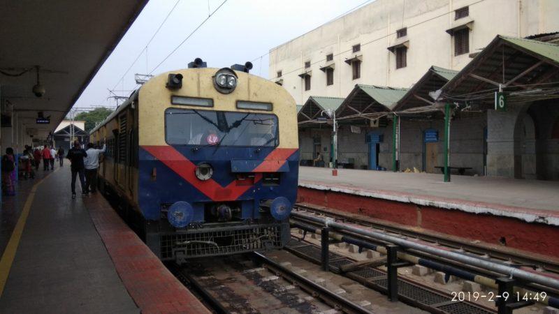 Suburban Railway gathers speed