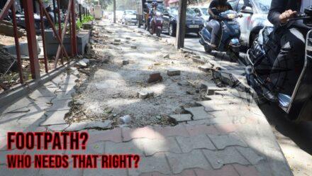 Footpaths of Bengaluru