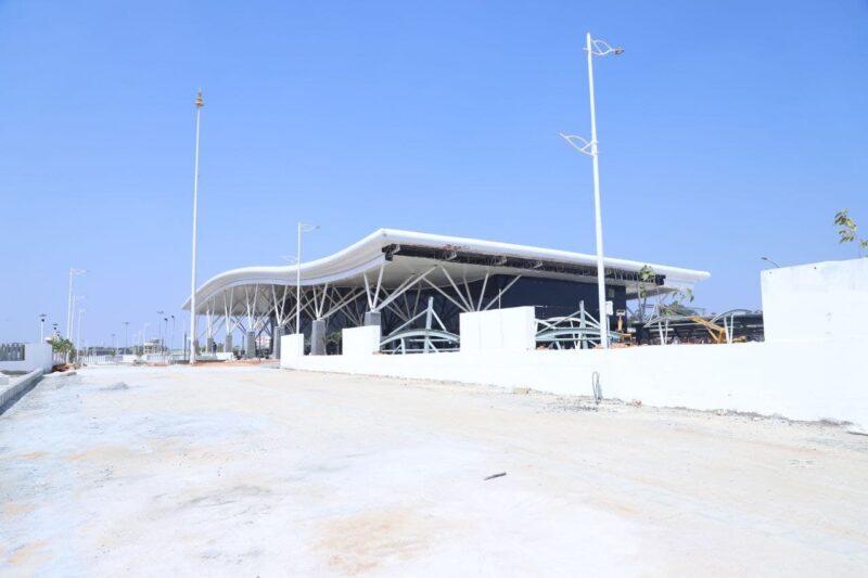 Bengaluru's new railway ac terminal at Baiyappanahalli