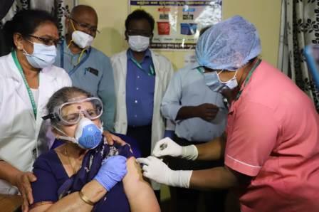 Covid vaccination details in Bengaluru